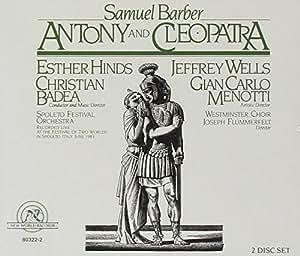 Barber : Antoine et Cléopâtre (opéra) / Badea