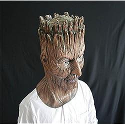 DZW Víspera de Todos los Santos terror Demonio de árbol máscara Sombrerería maquillaje paseo Horror Fiesta Difícil Accesorios High qualityForma realista
