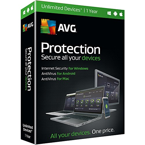 AVG Protection (Multi-Platform & Unlimited) /AVG Internet Security Unlimited, 1...