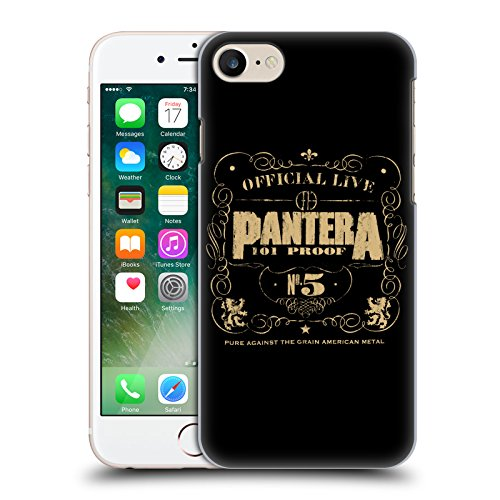 Offizielle Pantera Drag The Waters Kunst Ruckseite Hülle für Apple iPhone 6 / 6s 101 Proof