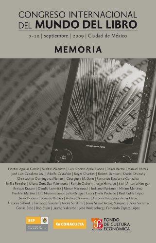 Congreso Internacional del Mundo del Libro (7-10 de septiembre de 2009, Ciudad de México). Memoria (Tezontle) por varios