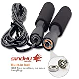 #9: Sindhu Fitness Jumping Skipping Rope for Gym Training, Exercise and Workout