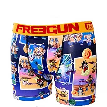 Freegun - Sous-vêtement homme -Freegun boxer homme premium DBZ - BABA (M)