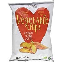 Trafo Chips Vegetales, sin Aceite - Paquete de 6 x 75 gr - Total: 450 gr