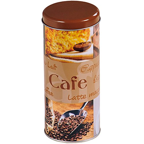 Kesper Aufbewahrungsdose, für Kaffeepads, silber, Küchendose, aus Metall, Höhe: 178 mm,...