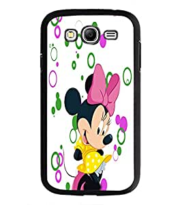 PrintDhaba Minnie D-3481 Back Case Cover for SAMSUNG GALAXY GRAND NEO (Multi-Coloured)