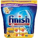 Terminer Quantum Powerball Lave-vaisselle comprimés Lemon (45) - Paquet de 6