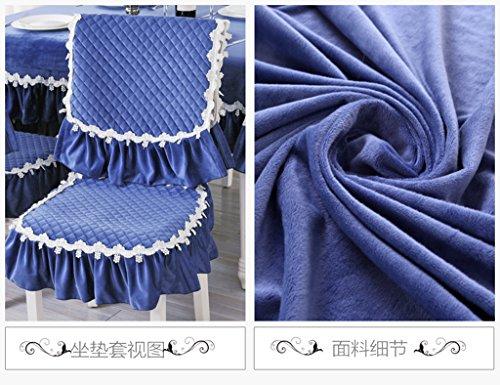 LXGAO,HASHU®,WEISHENMEN Colore solido, tavolo e sedia set (1 posti + un coperchio posteriore) BULAIDANZI