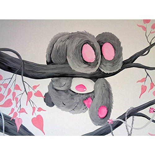 Vovotrade 5D Diamant Painting Disney Teddy Bear Tiere DIY Kristall Strass Kreuzstich Stickerei Arts Craft Bild Vorräte für Home Wand-Decor 20 x 25 cm