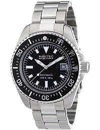 Nautec No Limit Herren-Armbanduhr Deep Sea STSTBKBK