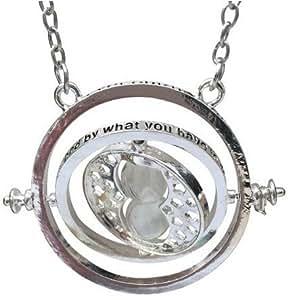 Harry Potter - R?plique du collier d'Hermione Granger - Retourneur de temps - L'ordre est envoye d'Angleterre, cela prends 5-8 j pour livraison