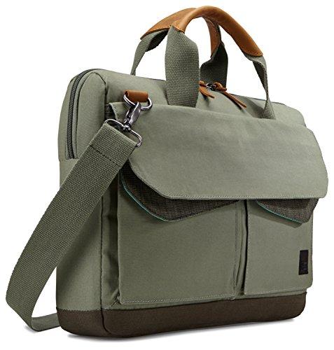 Case Logic LoDo Attache Tasche für Notebooks bis 35,6 cm (14 Zoll) Petrol Green