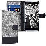 kwmobile Elephone P8 Mini Hülle - Kunstleder Wallet Case für Elephone P8 Mini mit Kartenfächern und Stand