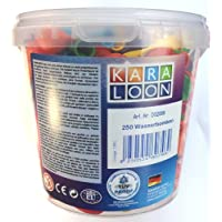 Karaloon D020998cm 250Water Bombs Bucket–Assorted Colours