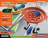 Clementoni 19116G Galileo-Action & Reaction-Trampolin, Multi