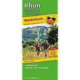 Rhön, Wasserkuppe - Rother Kuppe: Wanderkarte mit Ausflugszielen, Einkehr- & Freizeittipps, wetterfest, reissfest, abwischbar, GPS-genau. 1:25000