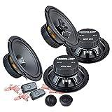 Ground Zero Front/Heck 16,5cm/165mm Auto Lautsprecher/Boxen/Speaker Komplett-Set für Ford