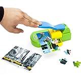MostroMania Macchina Puzzle Maker - Giochi Personalizzati - Inviti - Fotografie Vacanze - Pellicola Protettiva - Superficie Autoadesiva - Fai da Te - Idee Regalo Creative per Adulti e Bambini