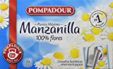Pompadour Té Infusion Manzanilla - 20 bolsitas - [Pack de 5]
