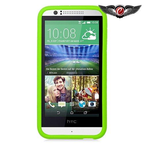 Eagle Cell Hybrid-Schutzhülle für HTC Desire 510, aus thermoplastischem Polyurethan (TPU), Green/Mint