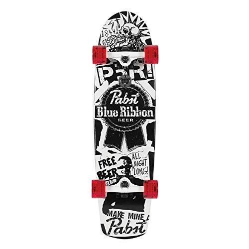 Santa Cruz Skateboard Longboard PBR Flyer, 8.2 x 30.7 Zoll, SANLOBPBFL