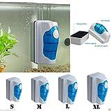 Praktischer Magnetverschluss Aquarium Fisch Tank Glas Algen Scrubber Aquatic Floating von Pinsel