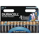 Duracell - Pile Alcaline Ultra Power - AA -12 Piles