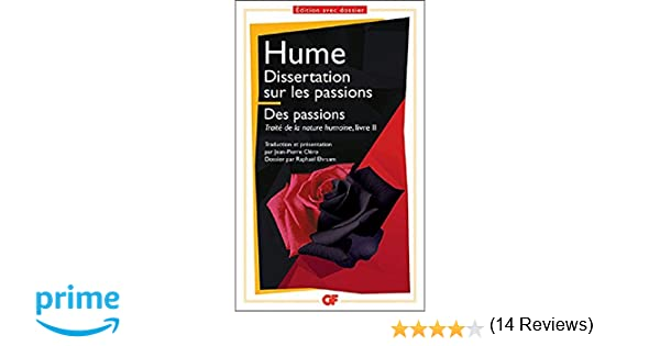 david hume dissertation sur les passions cpge