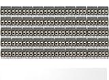 50 x Printklemmen Anschlussklemmen 2 polig anreihbar 5,08mm Art: 10122.4