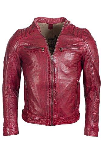 Gipsy Camren SF NSLVW Leder-Jacke rot XXL (Leder Jacke Xxl)