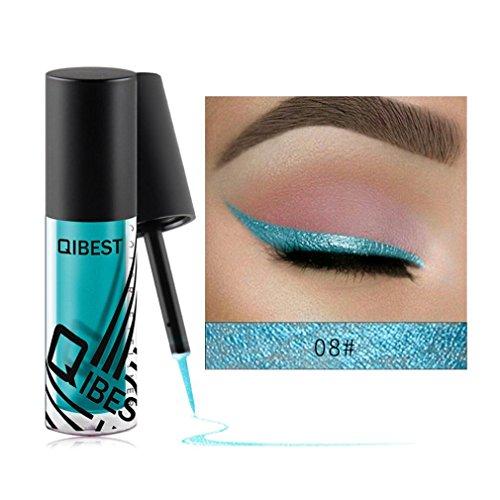 Pearl ombre à paupières liquide, YUYOUG Eyeliner liquide fard à paupières brillant Mode (H)