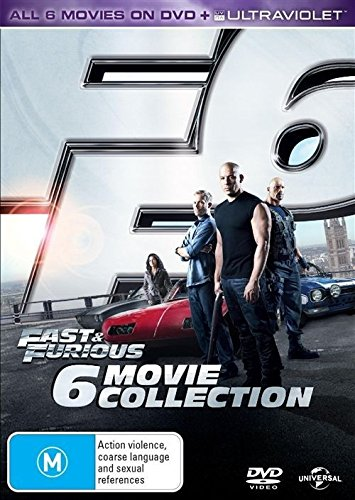 Bild von Fast and Furious Collection 1-6 (Fast and Furious/2 Fast 2 Furious/Tokyo Drift/Fast and Furious 4/Fast and Furious 5/Fast and Furious 6) (DVD)