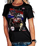 Stylotex Damen/Girlie T-Shirt So sehn Sieger aus Guy Croatia Hrvatska Kroatien, Größe:M, Farbe:schwarz