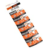 10 Pieces of Maxell LR41 Ag3 Lr736 392 392a 192 Sr41 Alkaline Button Coin Cell Battery Imported LR 41 Fresh Stock