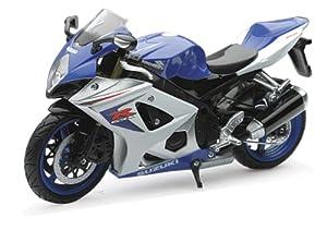 New Ray 57003  Modelo a Escala Moto - Suzuki GSX R1000 2008, Colores surtidos