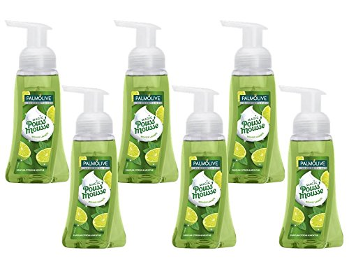 Palmolive Duftschaumseife Magic Softness Limette und Minze, 6er Pack (6x250 ml) -