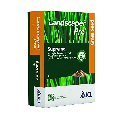 Icl Semente Landscaper PRO Supreme 1 kg Garten und Außen Mehrfarbig (Pro Landscaper)