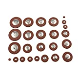Chen Rui(TM) Altsaxophon Saxophon Saxophonpolster Reparatur Wartung Metall Pads