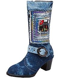 huge selection of 828d1 cecba Suchergebnis auf Amazon.de für: Jeans - Stiefel ...