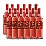 Marqués de Cáceres Rosado Rosewein DOCa Rioja - Tempranillo, Garnacha Tinta 2017 Trocken Sparpaket (12 x 0.75l)