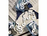 Musical Note Bookmark Favors. Great wedding favours, birthday gifts,baby shower presents, christmas stocking fillers and more?