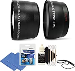 58mm Wide Angle Lens Kit for Canon Eos 1200D 1300D and All Canon DSLR Camera