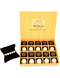 DEARCO CHOCOLATIER CHOCOLATE GIFT BOX, RAKHI CHOCOLATE For BROTHER, Luxury Rakhi Gift, PREMIUM RAKHI GIFT CHOCOLATES... - B073ZMQFB7