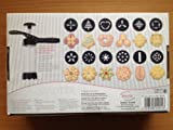 Gebäckpresse mit 12 Motivscheiben Kunststoff Städter Nr 229143