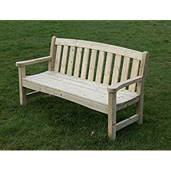 Garden Bench Heavy Duty 3 Seater Amazon Co Uk Garden