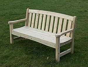 Garden Bench Heavy Duty 3 Seater