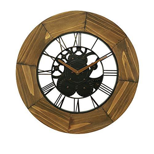 Jinrs orologio da parete, stile vintage chic, legno, antiquariato, coffee shop, cucina, camera da letto, giardino, soggiorno, studio, ufficio