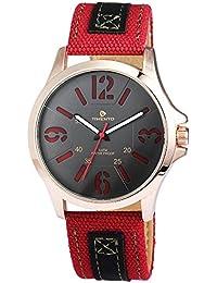 Reloj De Hombre timento con piel imitations pulsera