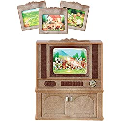 SYLVANIAN FAMILIES- Televisor Color Luxury, (Epoch para Imaginar 4264)