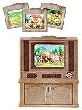 Sylvanian Families 4264 Luxus-Farbfernseher, Puppenmöbel, mehrfarben